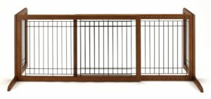 Indoor Dog Gates: Free Standing dog Gate