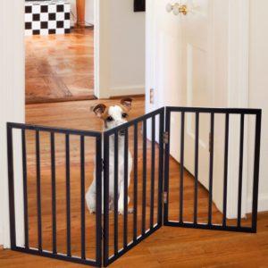 Indoor Dog Gates : Folding Dog Gates