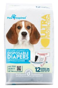 Disposable Dog Diapers For Females In Heat