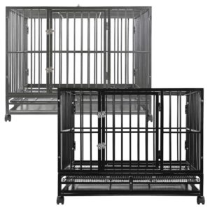 Dog Cages for Pitbulls
