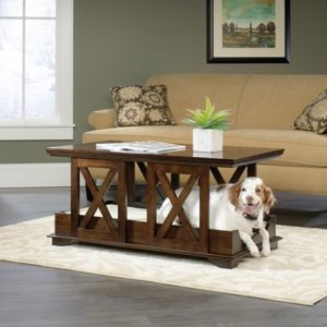 Merveilleux I Saw This Furniture Dog Crate On Amazon, And I Do Realize The Importance  Of It. This Furniture Dog Crate By Sauder Functions As A Coffee Table As  Well As A ...