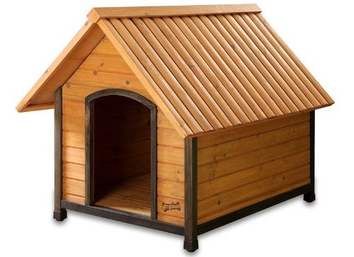 how to build a large dog house cheap