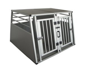 Double Dog Crate For Cars